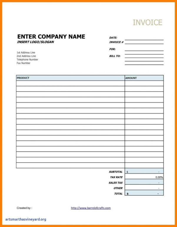 Blank Spreadsheet Pdf With Empty Invoice Template Blank Google Sheets Excel Uk Pdf Printable