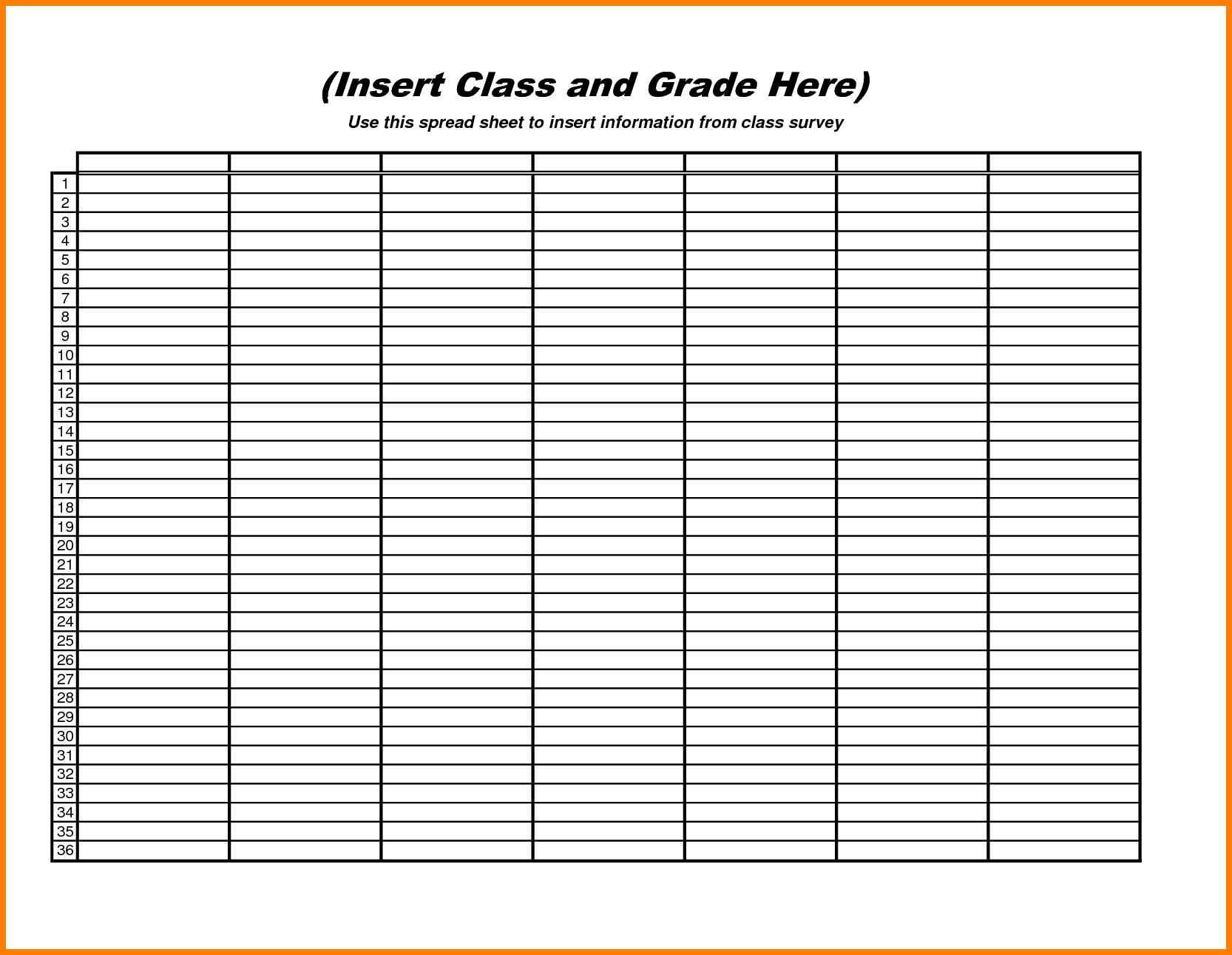 Blank Spreadsheet Template Inside 10  Excel Spreadsheet Template Free  Gospel Connoisseur