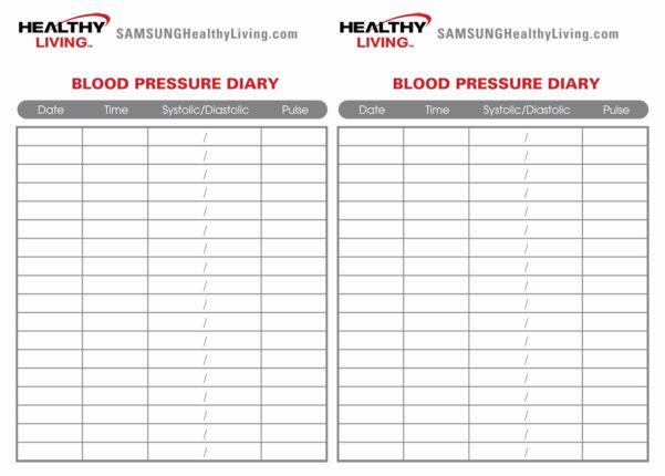 Blood Pressure Spreadsheet Regarding Blood Pressure Spreadsheet And 8 Best Of Sugar Blood Pressure Log