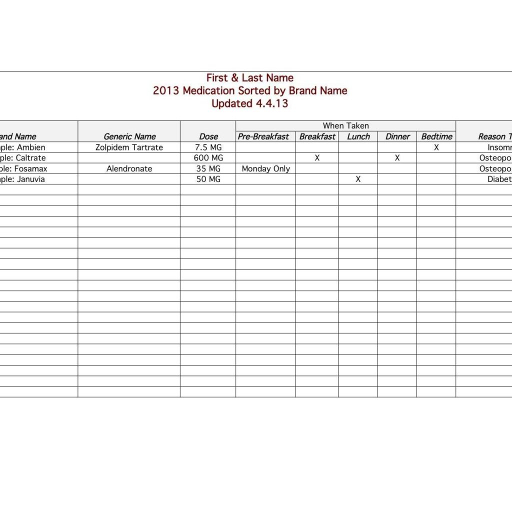 blood test spreadsheet printable spreadsheet blood work
