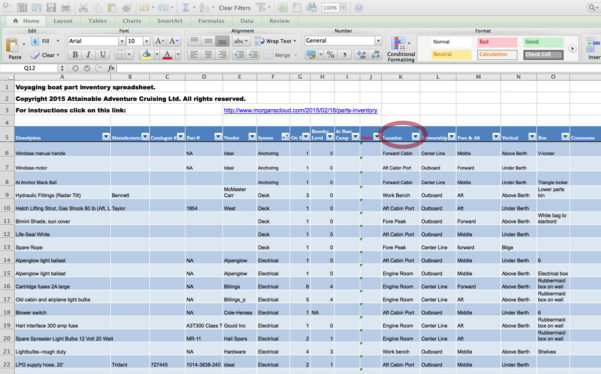 Boat Inventory Spreadsheet Pertaining To Boat Inventory Spreadsheet Spreadsheat Large Spare Partse28094Which