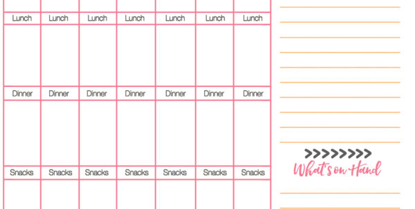 Body For Life Meal Plan Spreadsheet For Meal Prep For Busy People!  The Girl On Bloor