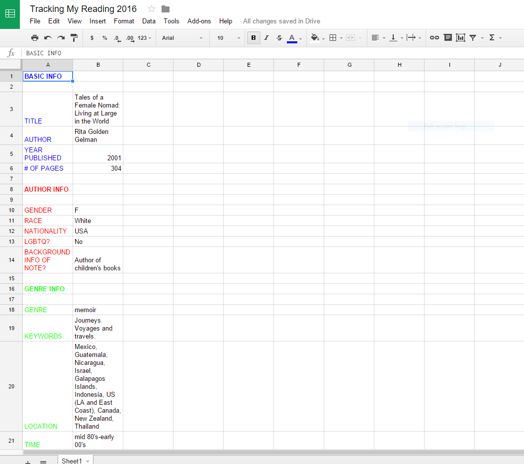 Book Reading Spreadsheet Intended For How I Track My Reading  Finding Delight. Book Reading Spreadsheet Printable Spreadshee Printable Spreadshee book reading spreadsheet