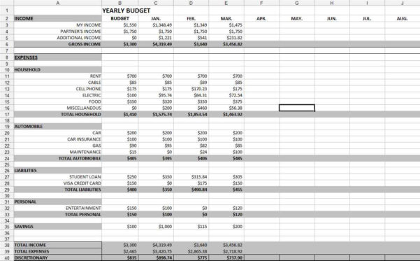 Bookkeeping Spreadsheet For Musicians Inside Free Easy Bookkeeping Spreadsheets And Bookkeeping For Small