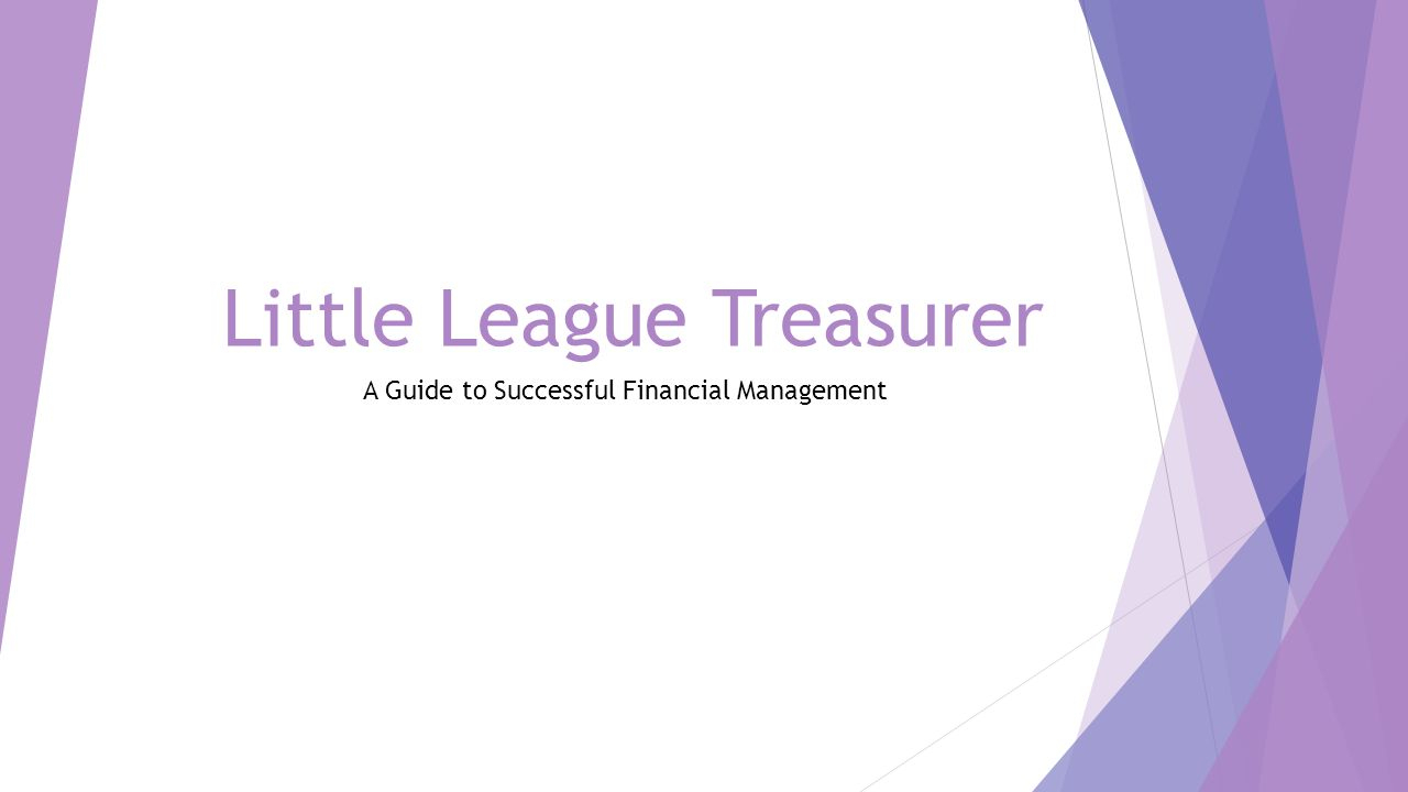 Booster Club Financial Spreadsheet Throughout Little League Treasurer A Guide To Successful Financial Management