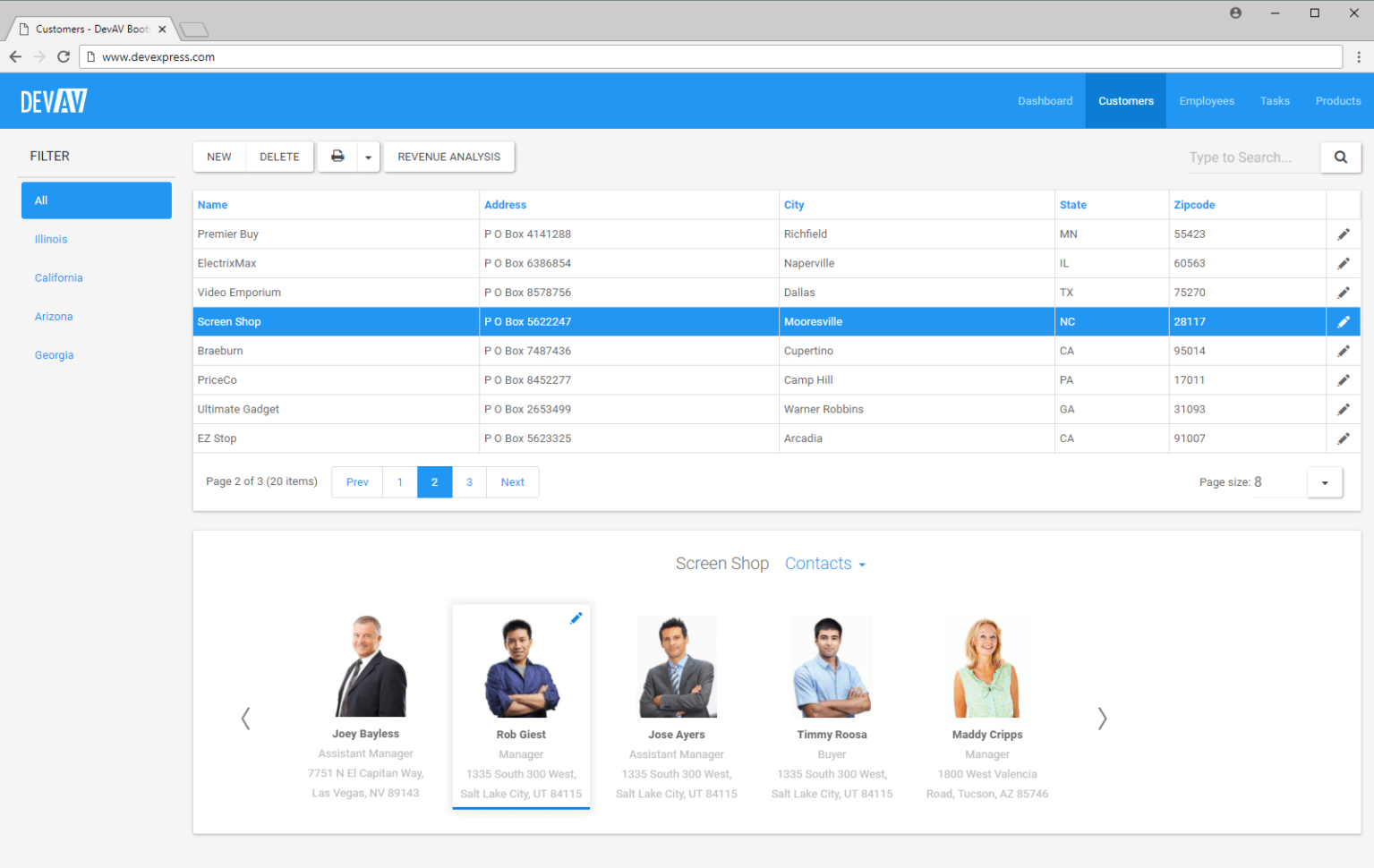 Bootstrap Spreadsheet Pertaining To Asp Webforms Bootstrapenabled Controls  Devexpress