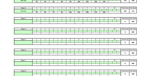 bowling handicap spreadsheet bowling league spreadsheet bowling sweeper spreadsheet bowling spreadsheet bowling stats spreadsheet bowling spreadsheet free bowling spreadsheet template  Bowling Spreadsheet For Free Bowling Score Sheet Template Bowling Spreadsheet Printable Spreadshee