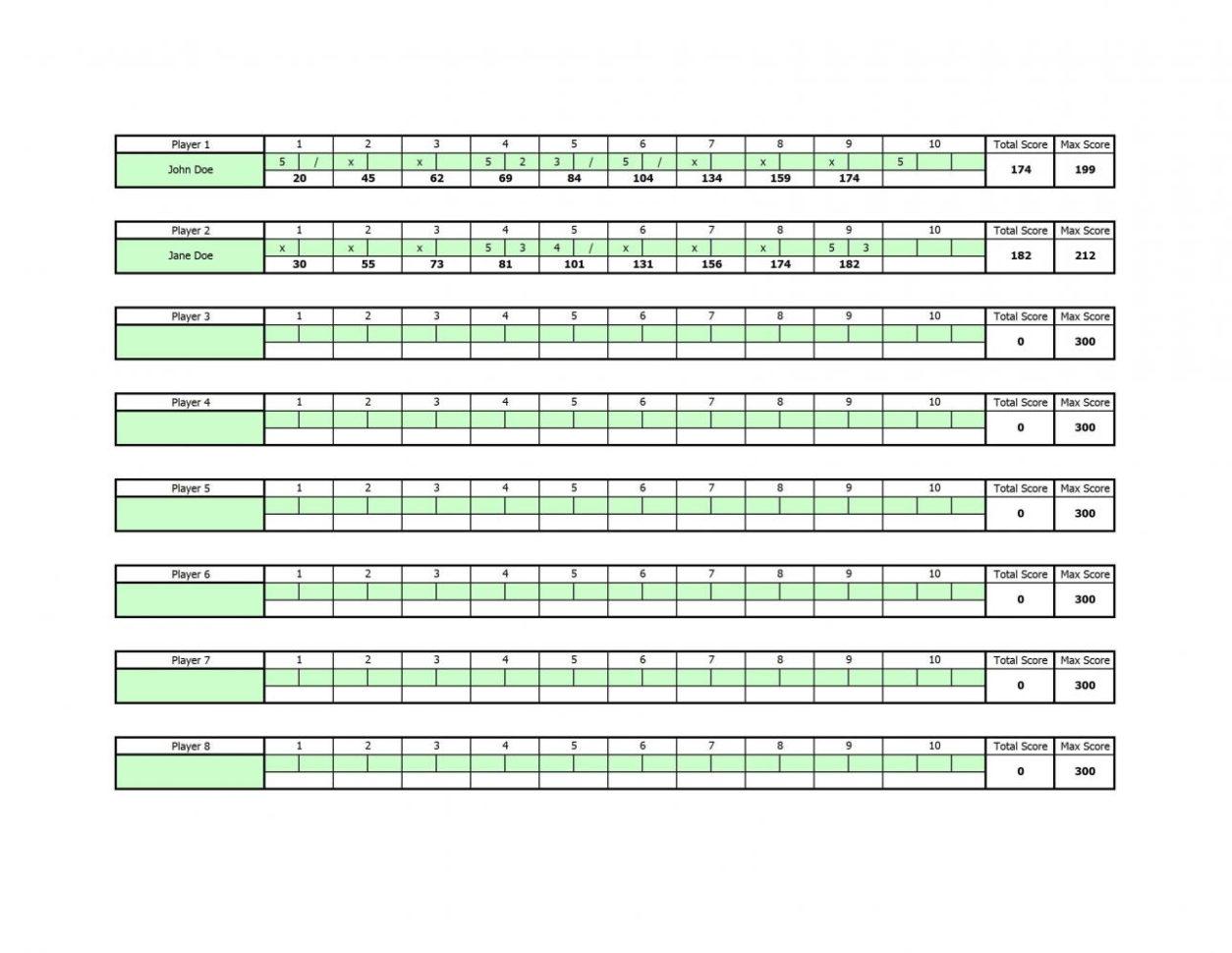 bowling average spreadsheet bowling stats spreadsheet  Bowling Stats Spreadsheet Intended For Bowling Scoring Sheet Excel  Cheapscplays Bowling Stats Spreadsheet Printable Spreadshee