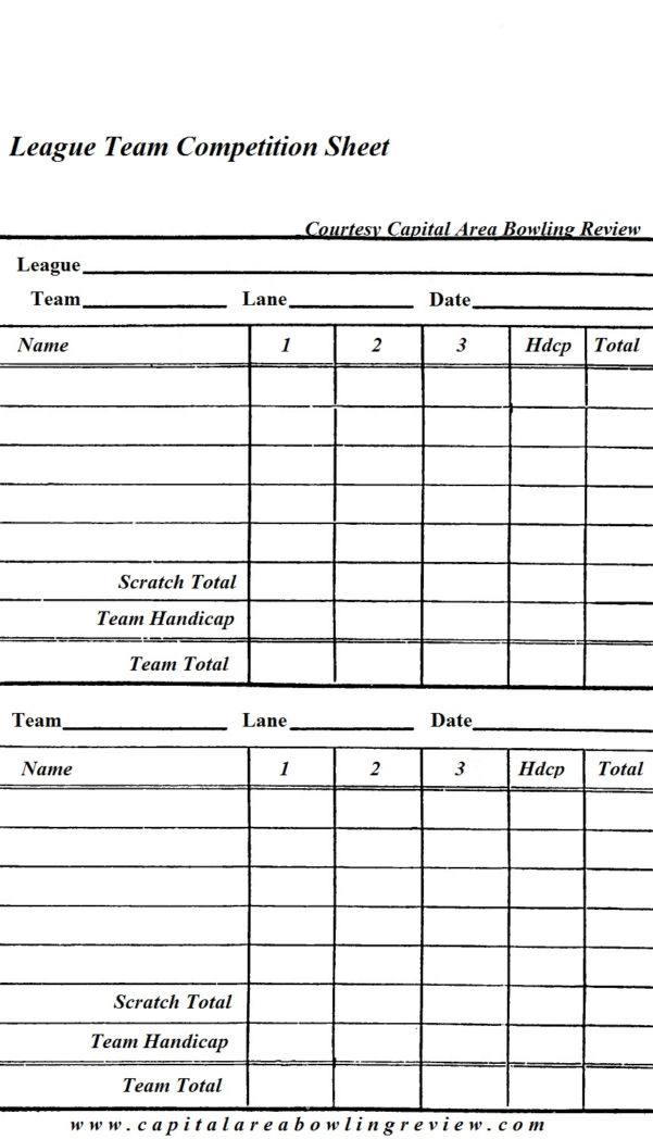 Bowling Stats Spreadsheet Regarding Home
