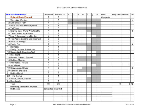 Boy Scout Troop Accounting Spreadsheet Throughout Boy Scout Budget Worksheet Bsa Rank Advancement Worksheets Troop