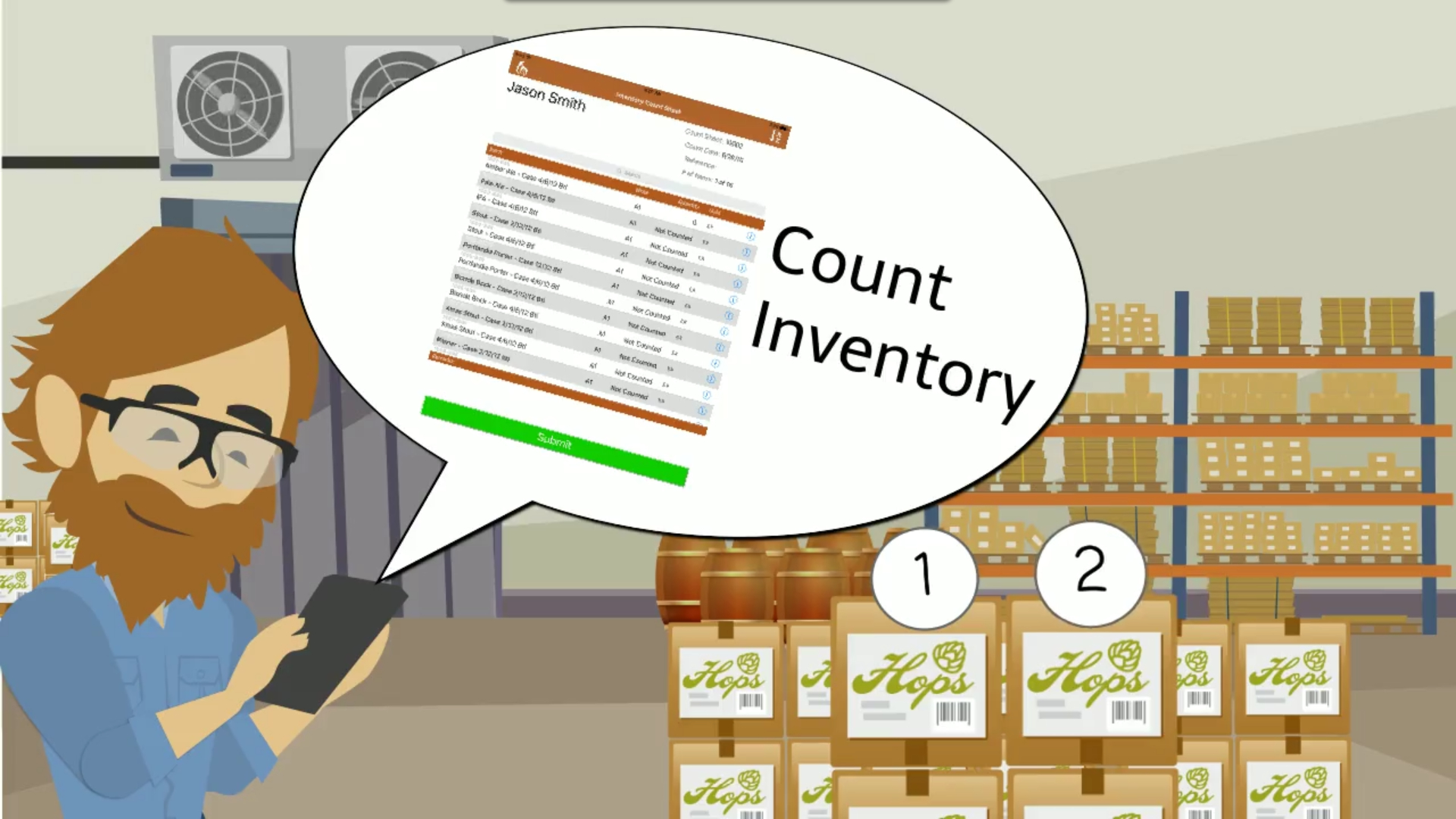 Brewery Inventory Spreadsheet In Obeer Brewery Inventory App  Orchestratedbeer