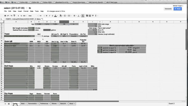 Brewery Production Spreadsheet Inside Homebrew Spreadsheet Beer Brewing Log Excel  Homebiz4U2Profit