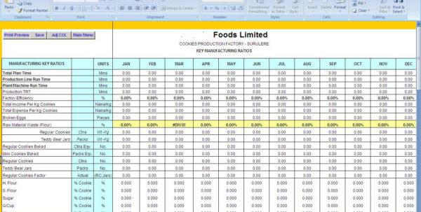 Brewery Production Spreadsheet Inside Pii 027: Make Money Selling Spreadsheet Workbooks You Use