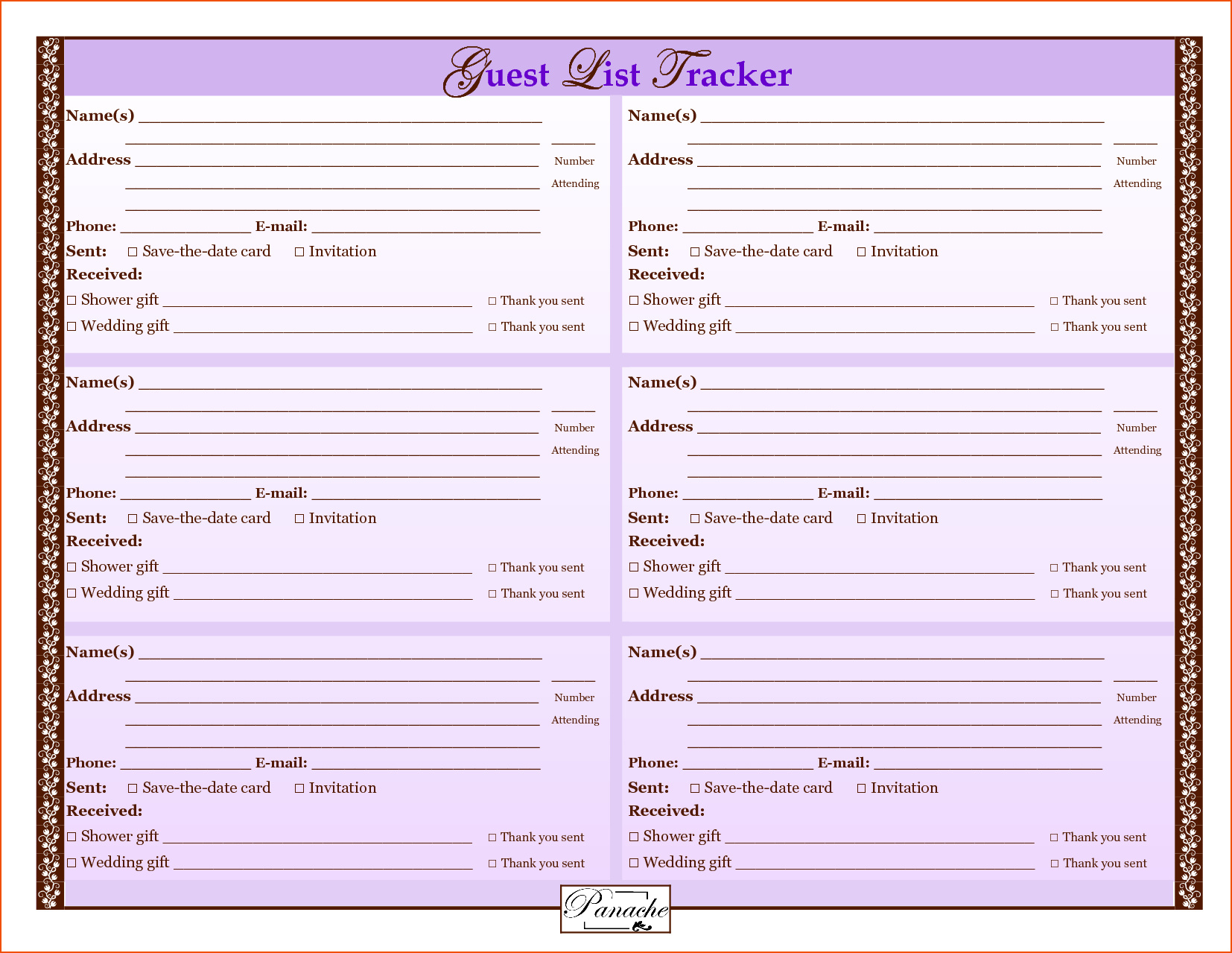 Bridal Shower Planning Spreadsheet Throughout Christmas List Template Excel Awesome Destination Wedding Planning