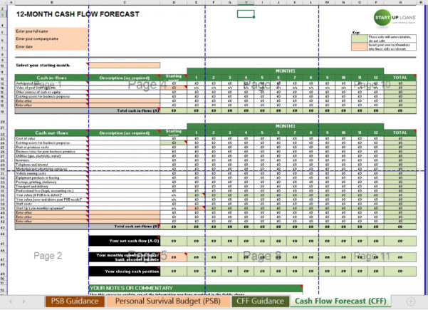 Budget And Cash Flow Spreadsheet For 005 Daily Cash Flow Template Ideas ~ Ulyssesroom