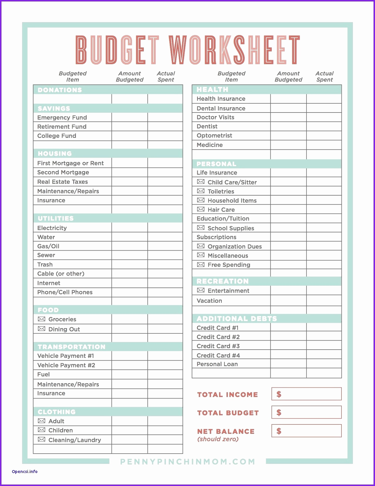 Budget And Debt Spreadsheet For Zero Based Budget Spreadsheet Excel Spreadsheet Debt Snowball