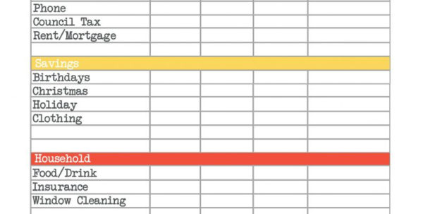 Budget Spreadsheet Download Regarding Downloadable Budget Worksheets Spreadsheet Download Home For Ipad