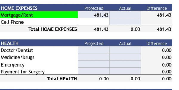 Budget Spreadsheet Excel Uk Regarding Monthly Bills Template Spreadsheet Budget Uk Expense Sheet Xls Excel
