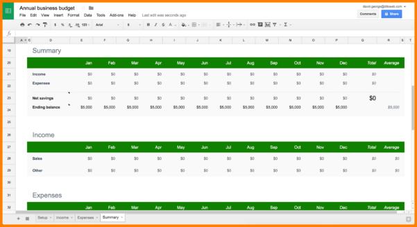 Budget Spreadsheet Google Docs Within Example Of Google Docs Budget Spreadsheet Excel Templates New