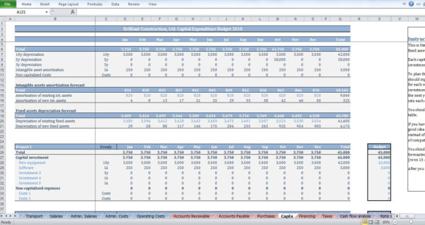 Budget Spreadsheet Uk Within Construction Budget Spreadsheet Free Excel Home Sample Template