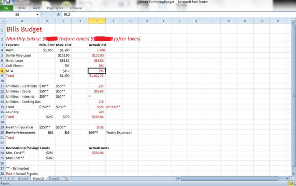 Budget Tracker Spreadsheet Free Download Inside Business Expense Tracker Spreadsheet And Daily Expenses Sheet In