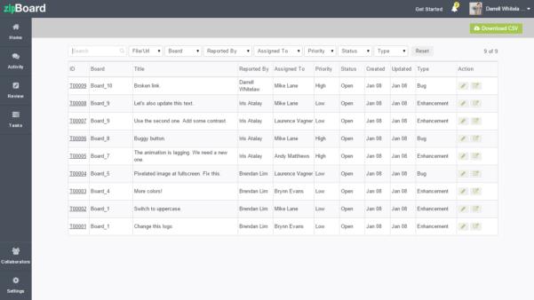 Bug Tracking Spreadsheet Regarding Website, Elearning, Ecommerce Issue  Bug Tracker  Zipboard