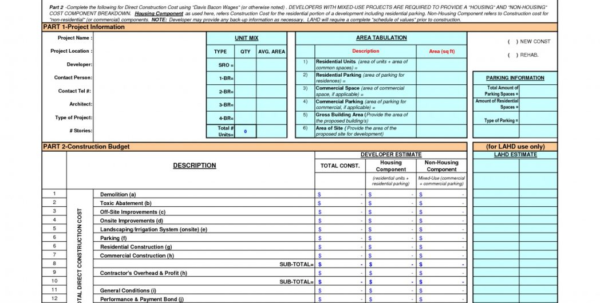Building Budget Spreadsheet With 107 House Building Budget Spreadsheet 10 Construction Free