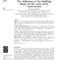 Building Life Cycle Cost Analysis Spreadsheet Intended For Pdf The Influence Of The Building Shape On The Costs Of Its