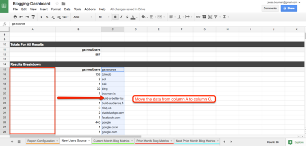 Building Spreadsheets Pertaining To How To Create A Custom Business Analytics Dashboard With Google