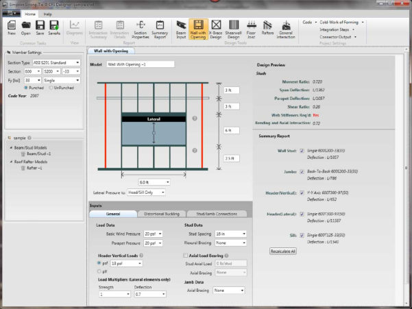 Building Structural Design Spreadsheets Free Download Inside Steel Frame Design Software Free Download Framecad Detailer Full