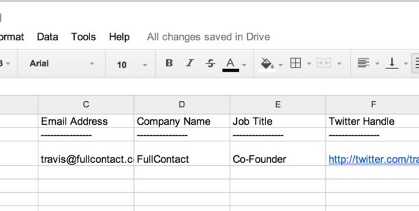 Business Excel Spreadsheet Regarding How To Scan Business Cards Into A Spreadsheet