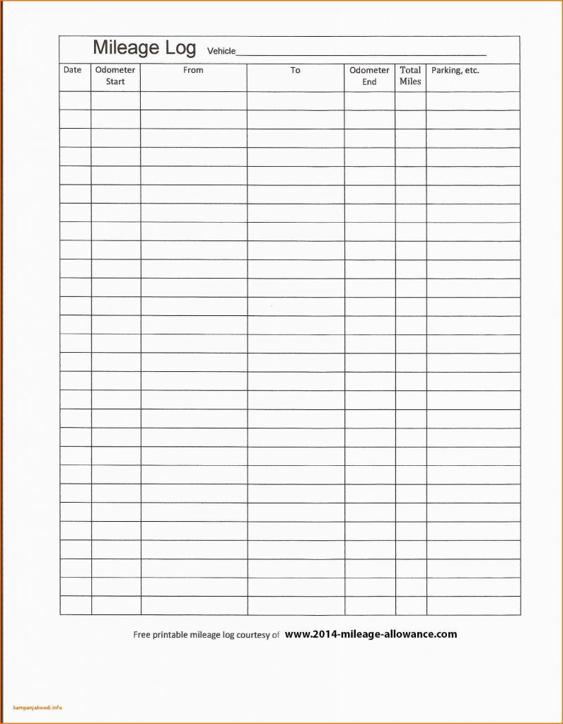 Business Mileage Spreadsheet With Mileage Tracker Spreadsheet For Business Mileage Spreadsheet Mileage