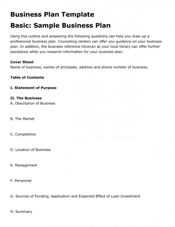 Business Plan Spreadsheet Example Within Business Plan Spreadsheet Template Templates Excel Free Sample