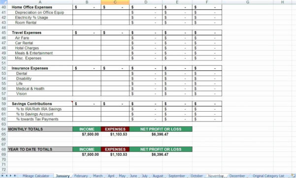 Business Spreadsheet For Taxes With Regard To Tax Spreadsheet Template For Business Within Deduction Excel