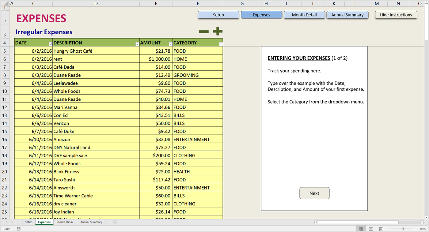 Business Spreadsheet Income Expenses For Spreadsheet Microsoft Excel Creating An Income Expenditure
