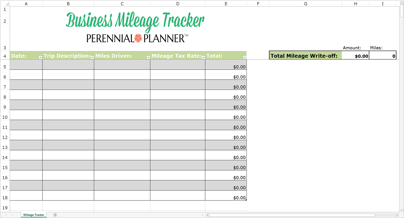 Business Tracking Spreadsheet In Awful Mileage Tracker Form Templates Reimbursement Irs Free Log