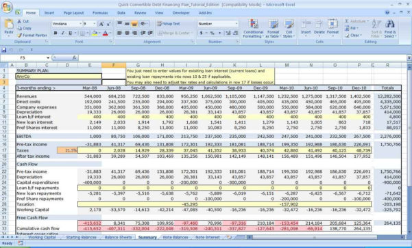 Business Valuation Spreadsheet Excel Pertaining To Business Valuation Spreadsheet Template And Free Excel Business