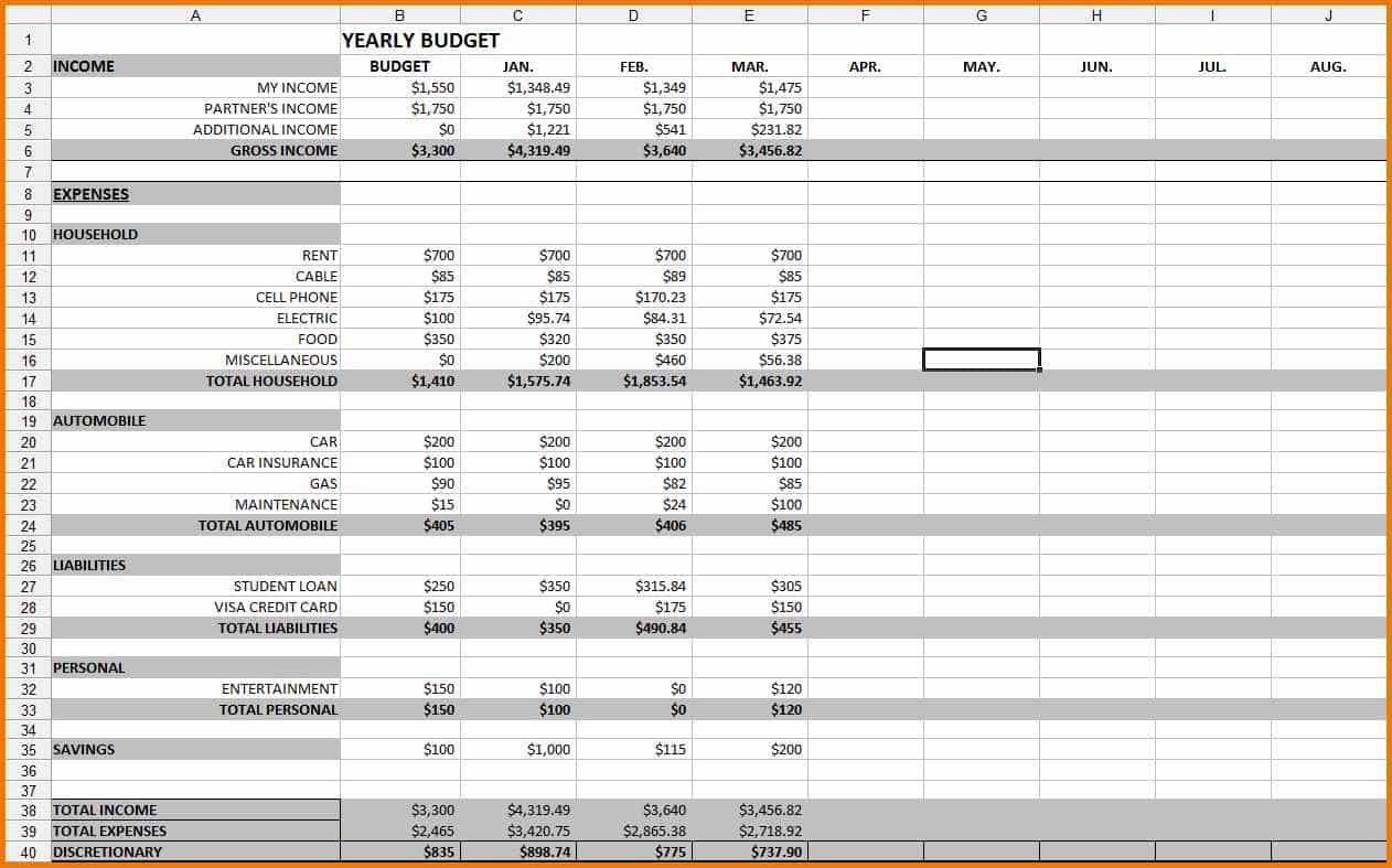 Buy To Let Spreadsheet For Example Spreadsheet Of How To Keep Expenses For Buy To Let And