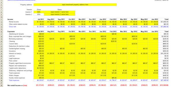 Buy To Let Spreadsheet Regarding Rent Vs Buy Analysis Spreadsheet  Laobing Kaisuo