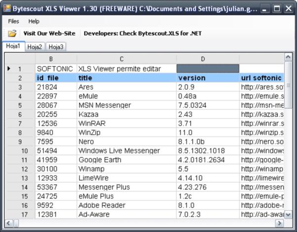Bytescout Spreadsheet Regarding Xls Viewer  Download