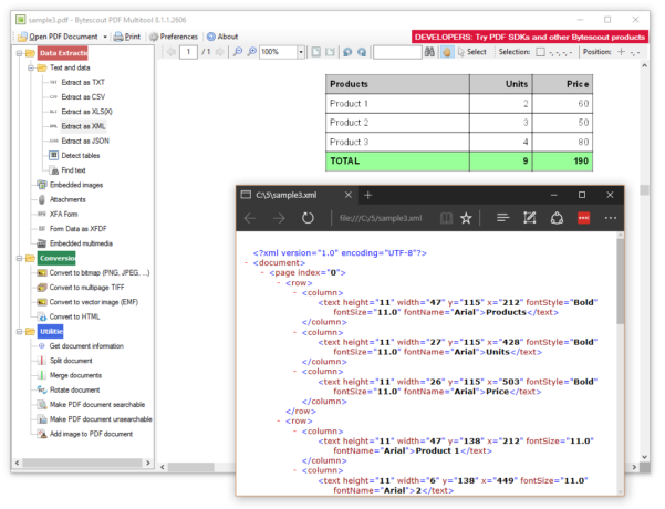 Bytescout Spreadsheet Within Bytescout C# Extractor Sdk  Easy Way To Extract Images From Pdf