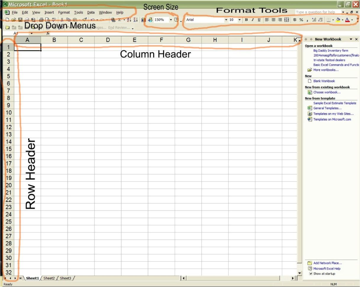 Cabinet Cut List Spreadsheet Within An Introduction To Spreadsheets  Thisiscarpentry