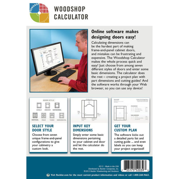 Cabinet Door Calculator Spreadsheet Free Within Woodshop Calculator For Door Making License Key  Rockler
