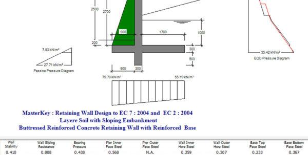 Caisson Design Spreadsheet In Design Retaining Wall  Home Design Ideas Caisson Design Spreadsheet Spreadsheet Download