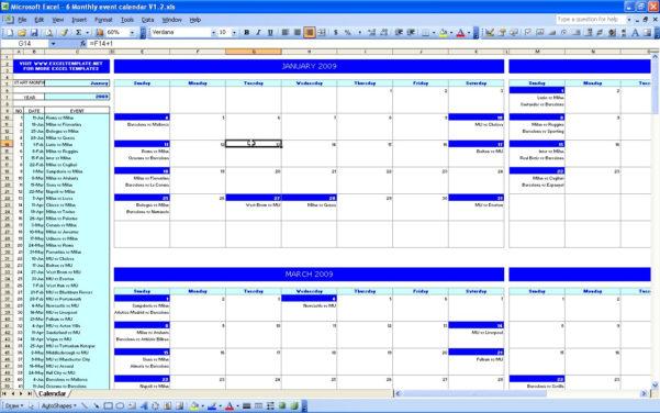 Calendar Excel Spreadsheet Download Inside Calendar Download Free Printable Excel Templates Xlsx Spreadsheet