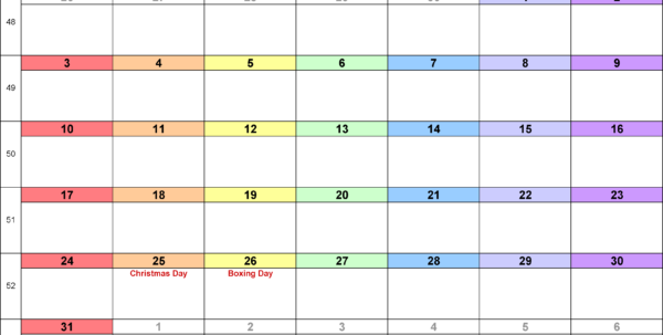 Calendar Spreadsheet 2018 Inside Calendar December 2018 Uk, Bank Holidays, Excel/pdf/word Templates