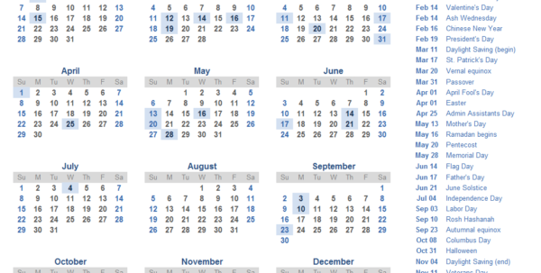 Calendar Spreadsheet 2018 With 2018 Calendar Templates, Images And Pdfs Calendar Spreadsheet 2018 Google Spreadsheet
