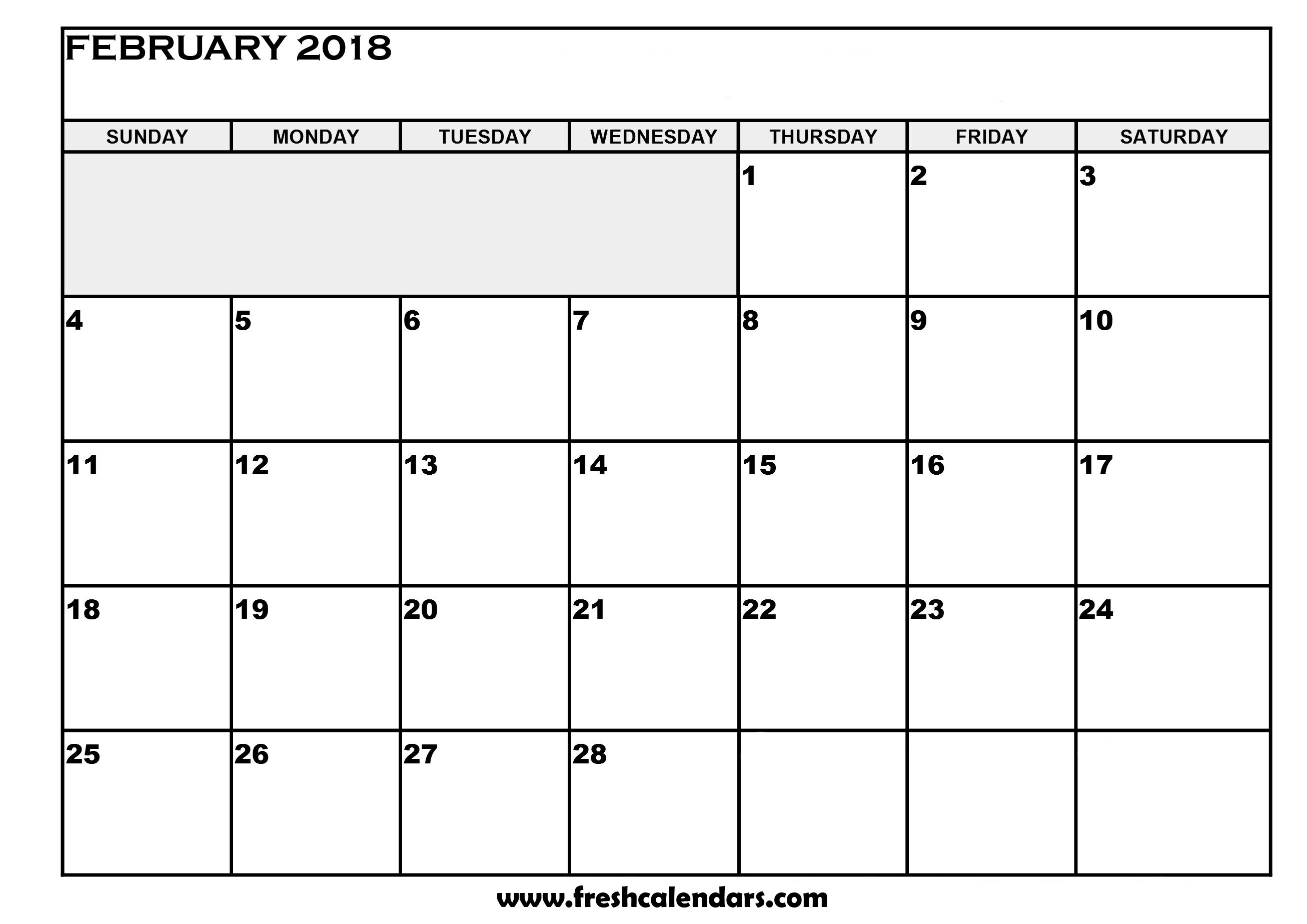 Calendar Spreadsheet 2018 With February 2018 Calendar Printable Templates