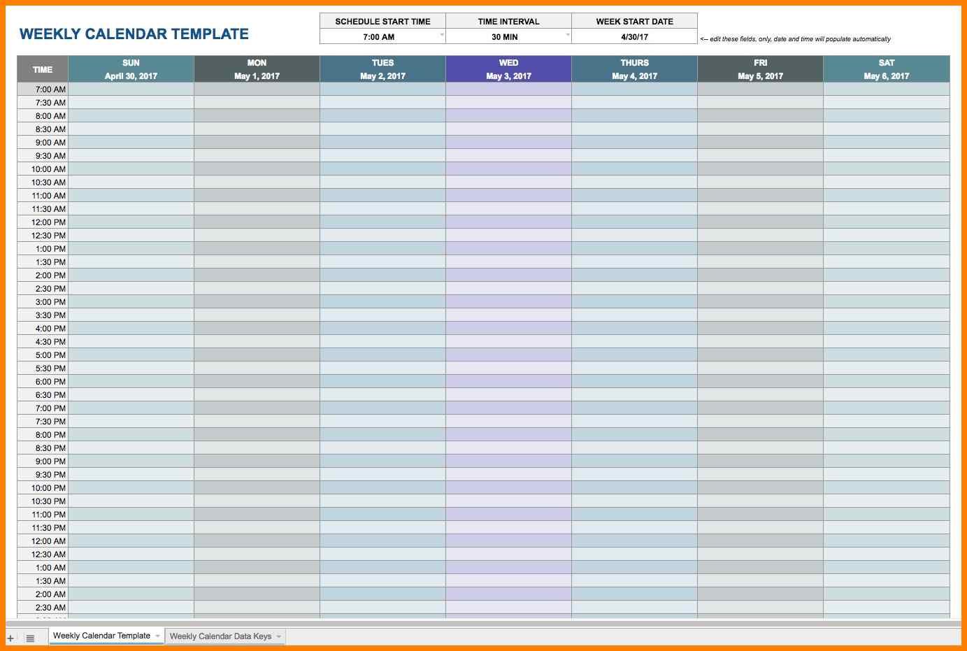 Calendar Template Google Docs Spreadsheet Within 8  Google Docs Calendar Templates  Pear Tree Digital