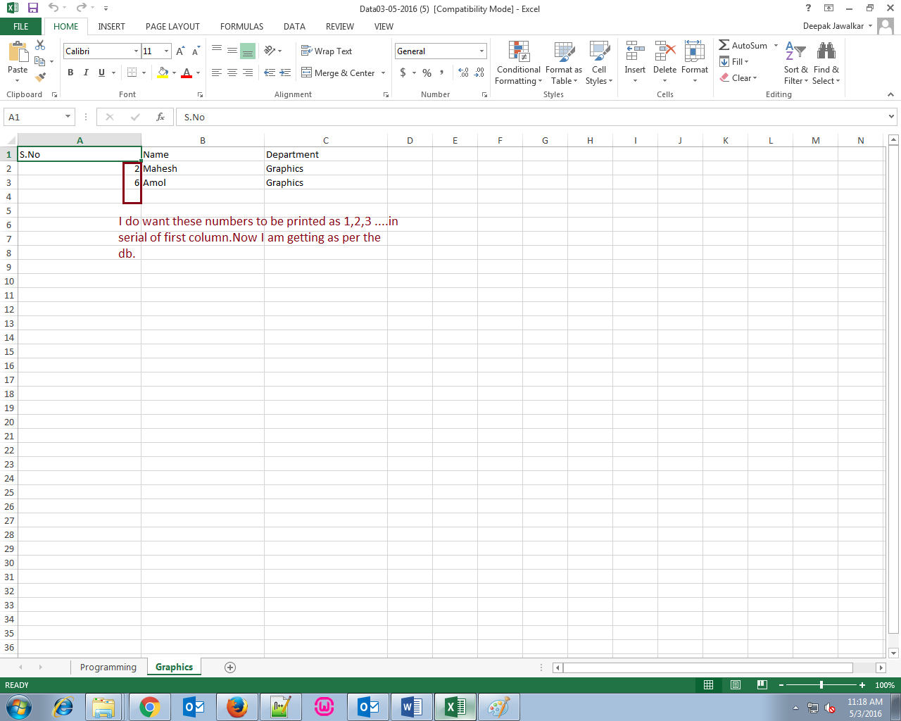 Can An Excel Spreadsheet Be A Database With I Am Trying Export Data In Excel Sheet From Mysqli Database But I Am